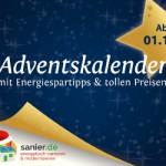 Online-Adventskalender mit Tipps zum Energiesparen und Modernisieren