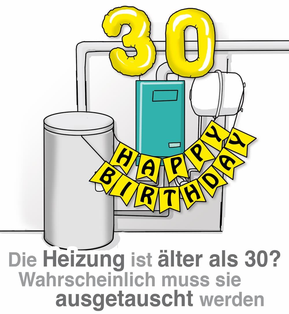Die Heizung ist älter als 30 Jahre: Dann kann es eine Austauschpflicht geben
