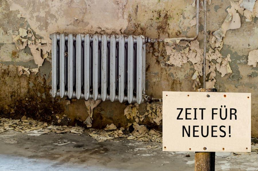 Alter Heizkoerper © Animaflora PicsStock, stock.adobe.com