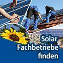 Solar Fachbetriebe finden
