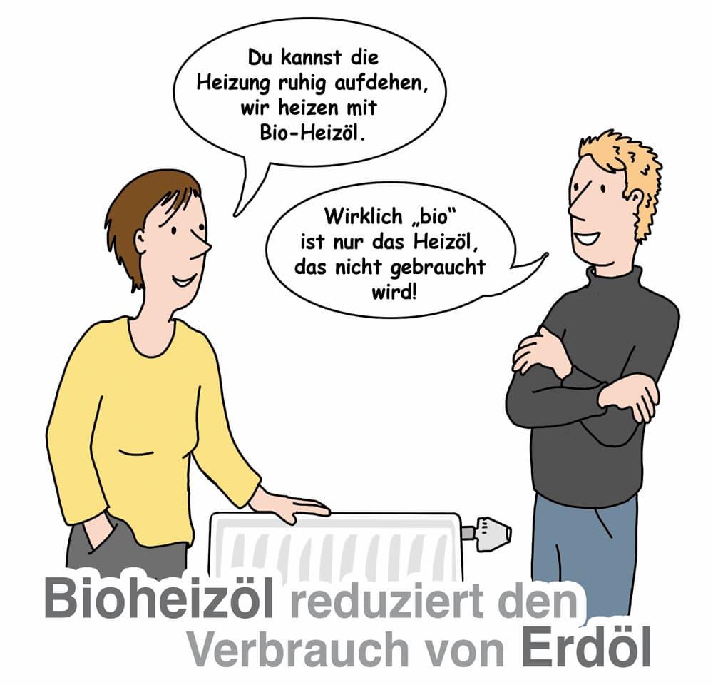 Bioheizöl reduziert den Verbrauch von Erdöl