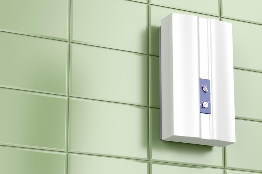 Dezentrale Warmwasserbereitung mit einem Durchlauferhitzer © magraphics, stock.adobe.com