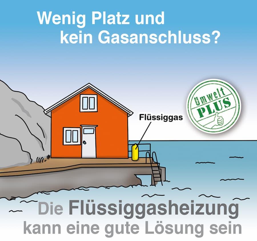 Flüssiggasheizung: Auch in entlegenen Gebieten möglich