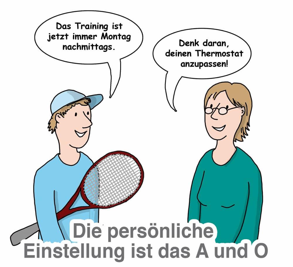 Hezkörper Thermostate: Die persönliche Einstellung ist das A und O
