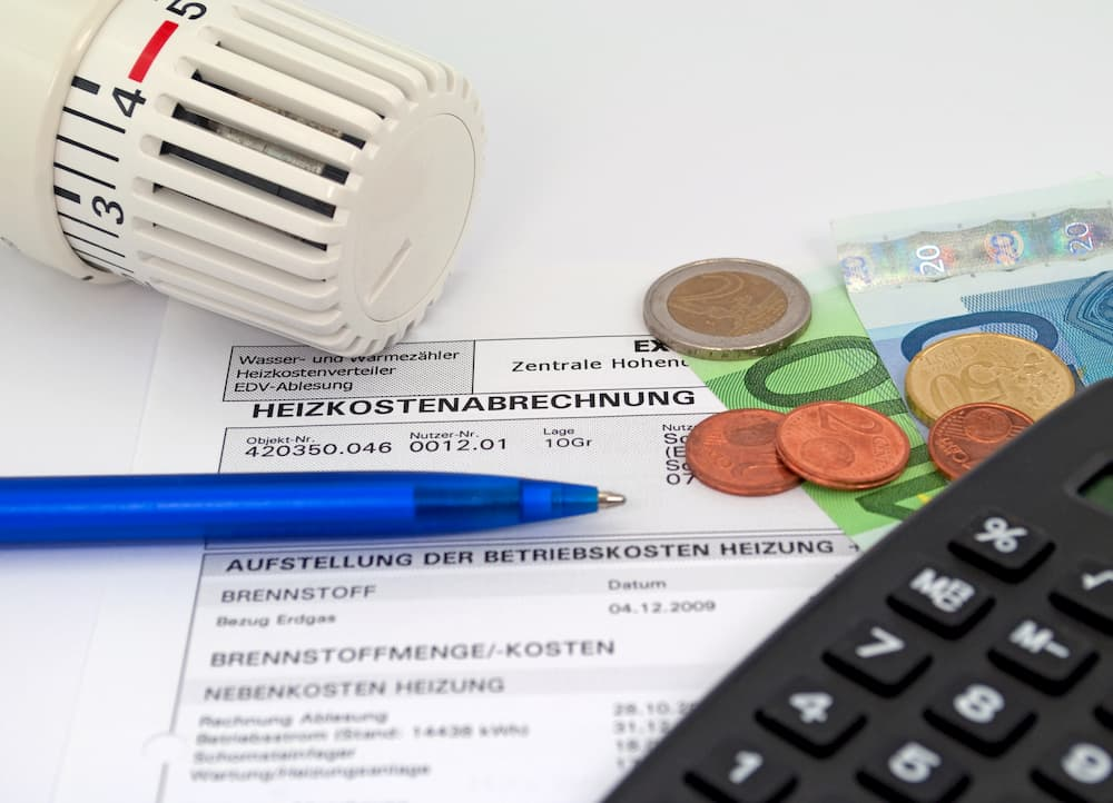 Heizkosten Abrechnung © M Schuppich, stock.adobe.com