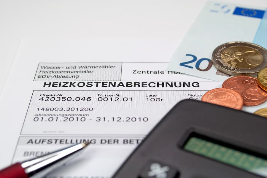 Heizkostenabrechnung © M. Schuppich, stock.adobe.com