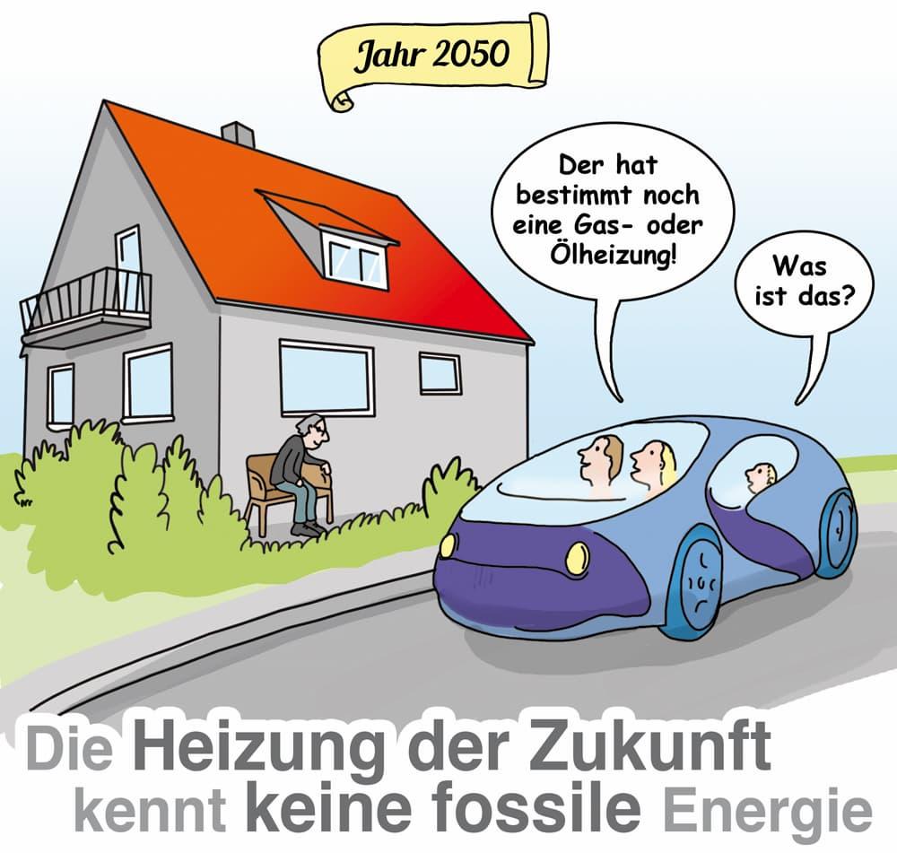Die Heizung der Zukunft läuft sicher ohne fossile Energieträger