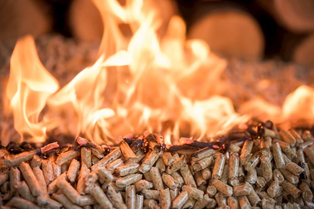 Holzpellets brennen © tchara, stock.adobe.com