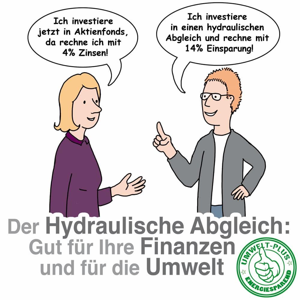Hydraulischer Abgleich: Gut für die Umwelt und die Finanzen