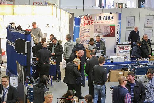 Impressionen von der Messe Bauexpo © Messe Giessen, www.fotogo-giessen.de