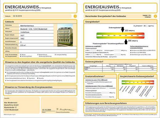 Energieausweis Eigenschaften Erklarung Fakten