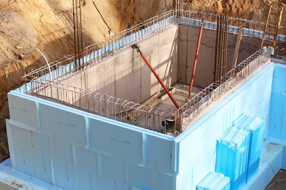 Außendämmung der Kellerwand © Kara, stock.adobe.com