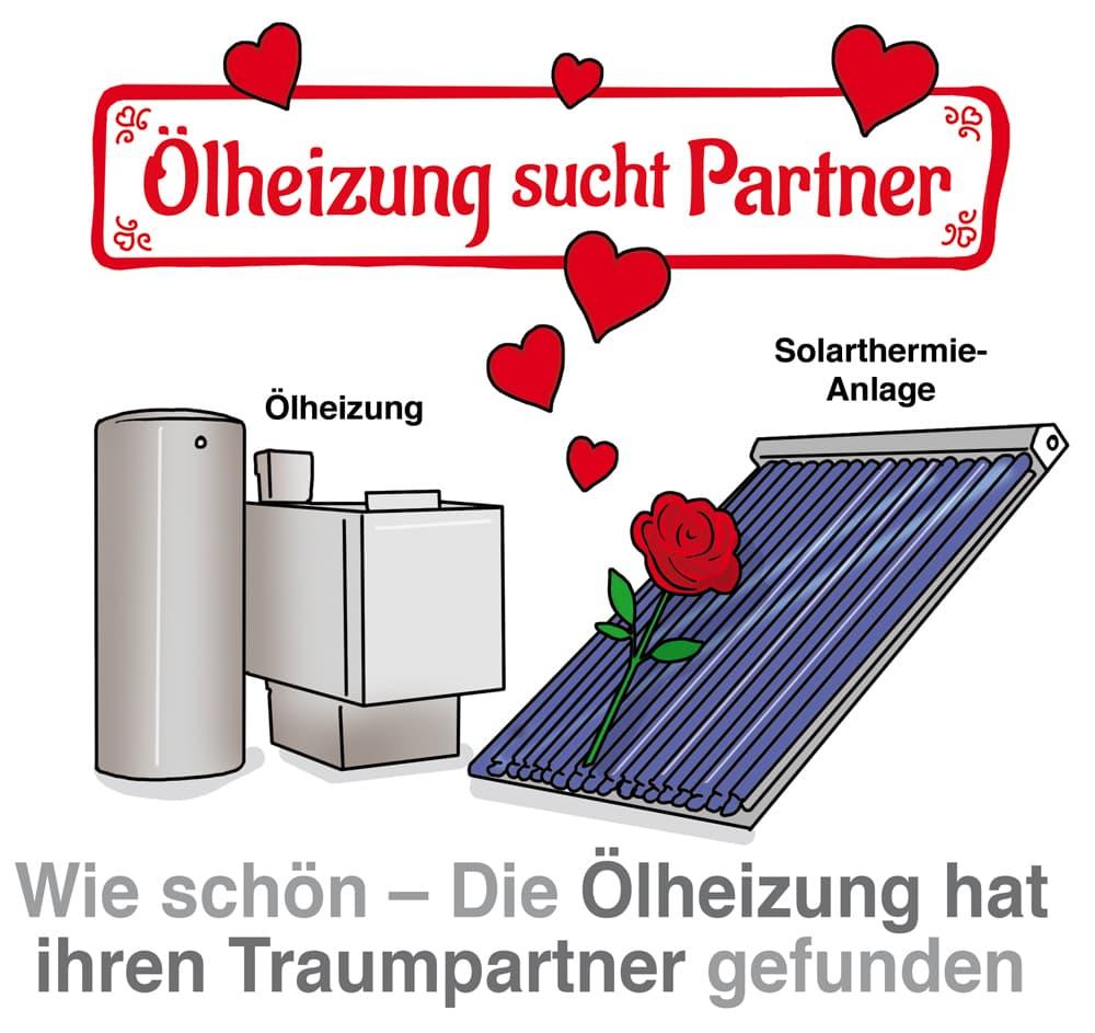 Sinnvoll: Ölheizung mit Solarthermie kombinieren