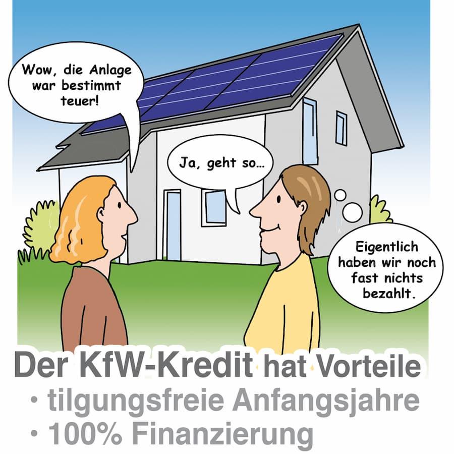 Photovoltaik: Förderung durch die KfW nutzen