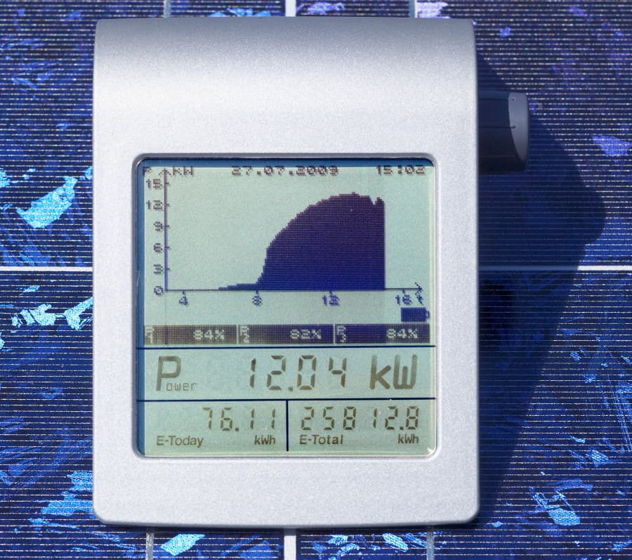 Photovoltaik Leistungsdaten