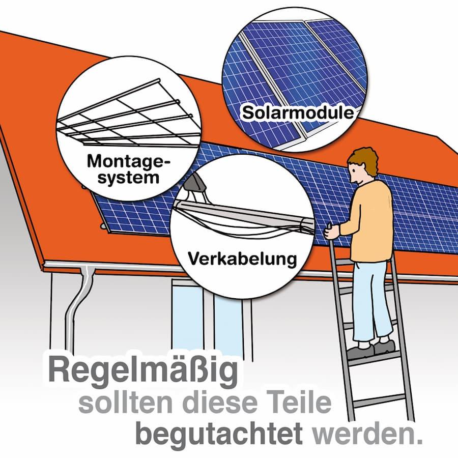 Photovoltaik Wartung: Diese Komponenten sollten regelmäßig geprüft werden