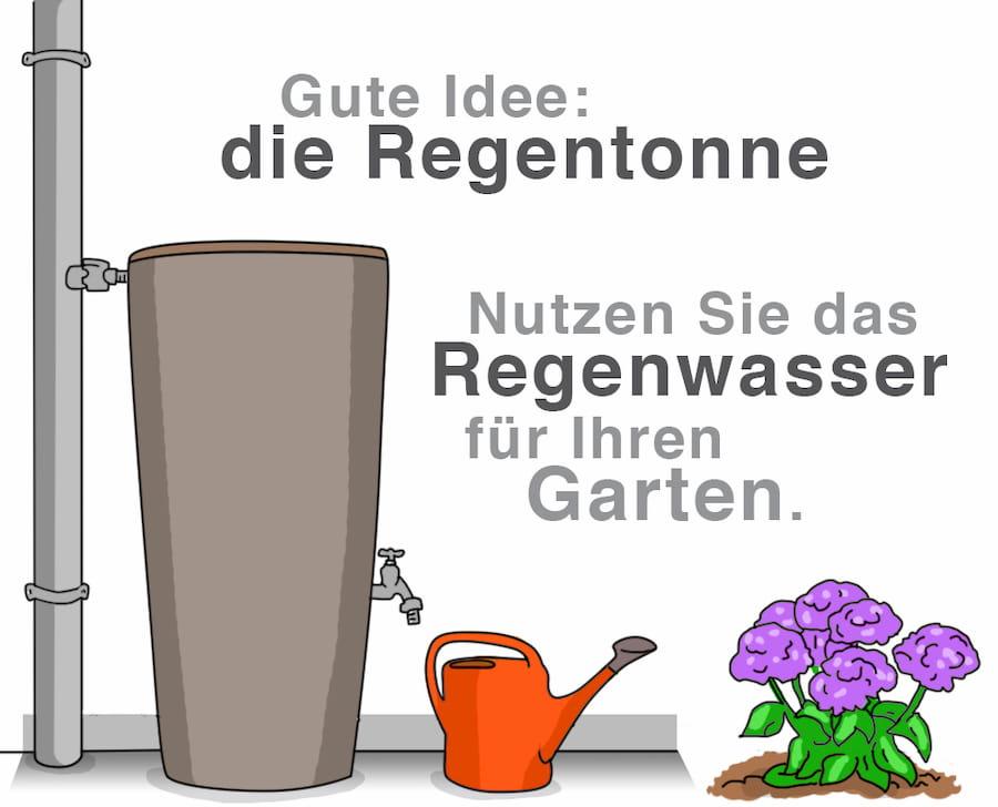 Regentonne: Nutzen Sie das Regenwasser für Ihren Garten