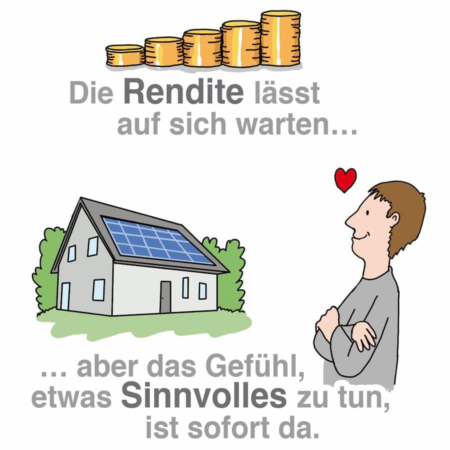 Solaranlage: Die Umwelt freut sich auf jeden Fall