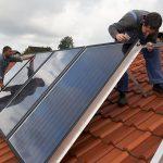 Modernisierung der Heizung mit Solarthermie