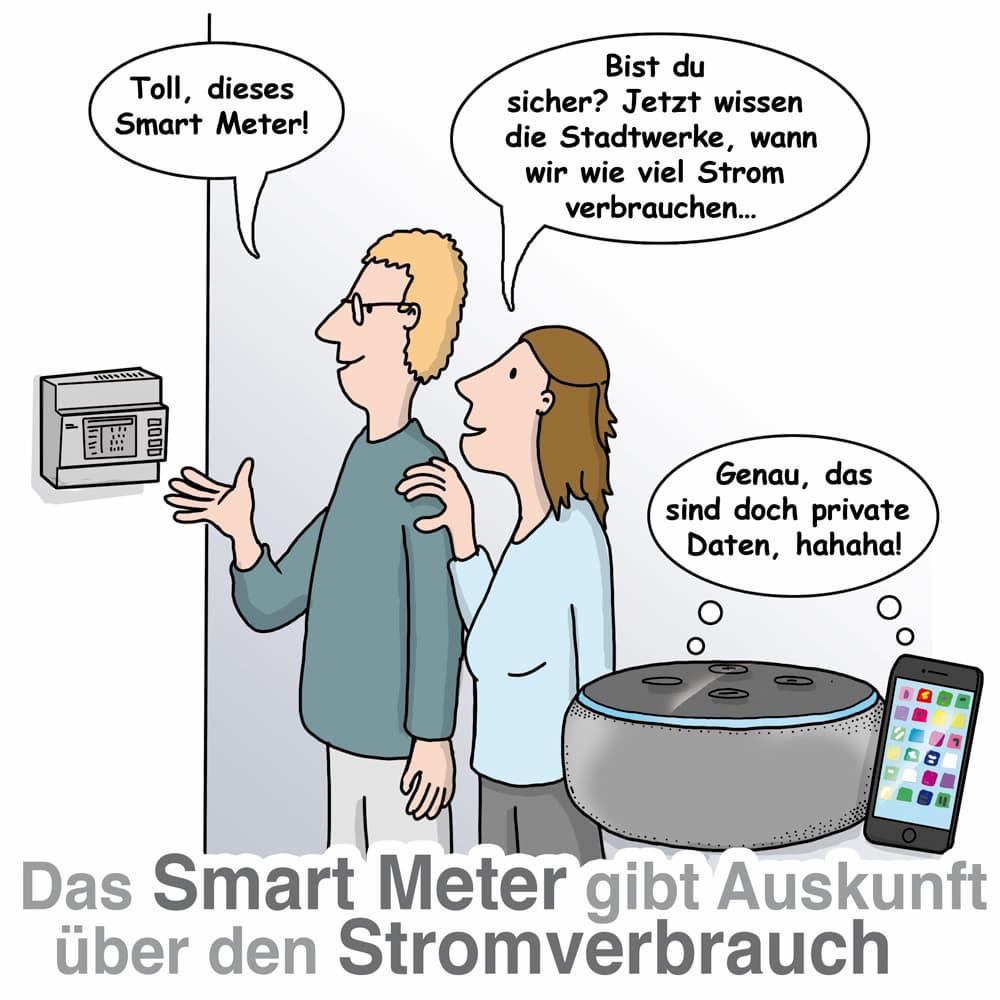 Smart Meter sind hilfreich, wichtig ist der Datenschutz