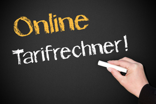 Online Tarifrechner nutzen © Doc Rabe Media, stock.adobe.com
