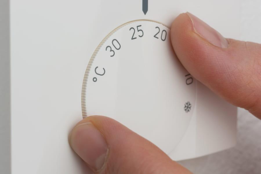 Temperatur einstellen © Bluedesign, stock.adobe.com