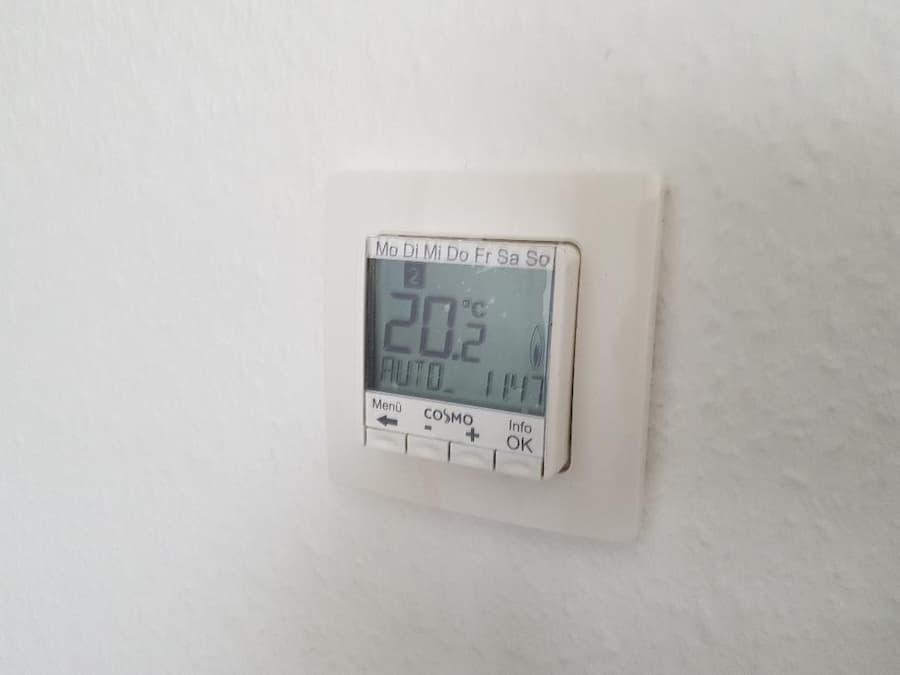 Thermostat für die Fußbodenheizung