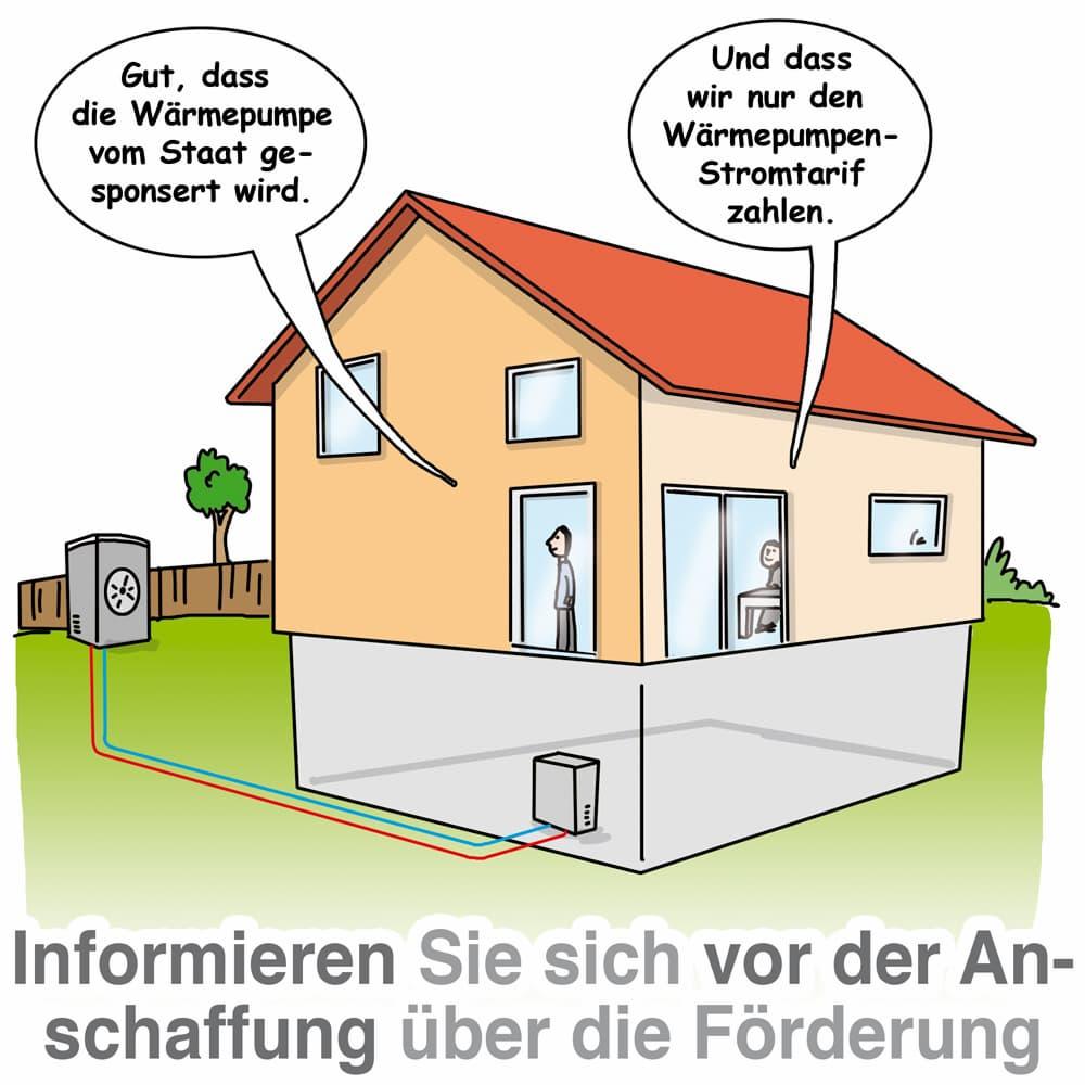 Wärmepumpen: Informieren Sie sich vor Anschaffung einer WP über die Förderung