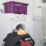 Wasser sparen: Wäsche waschen