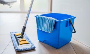 Wasser sparen: Putzen