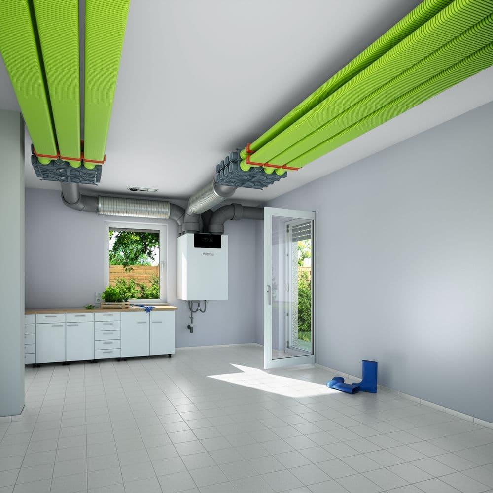 Zentrale Wohnungslüftung © Buderus